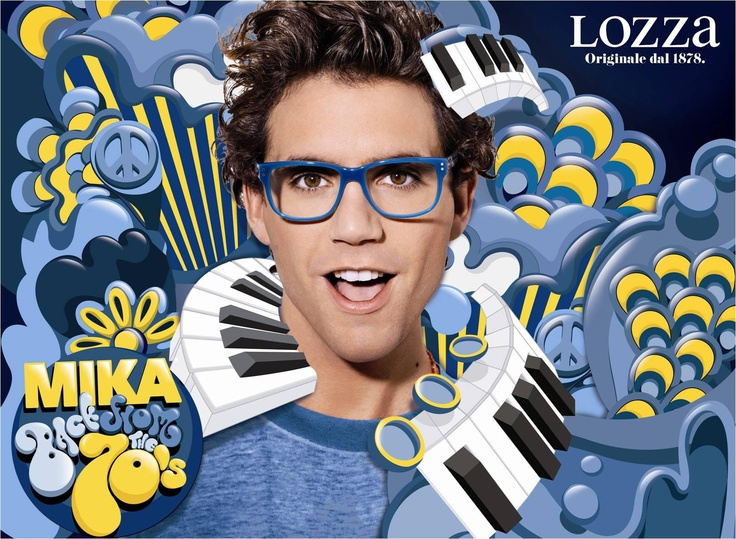 Mika for Lozza campaign 2012