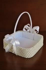 Resultado de imagen para canastas para pajes de boda vintage