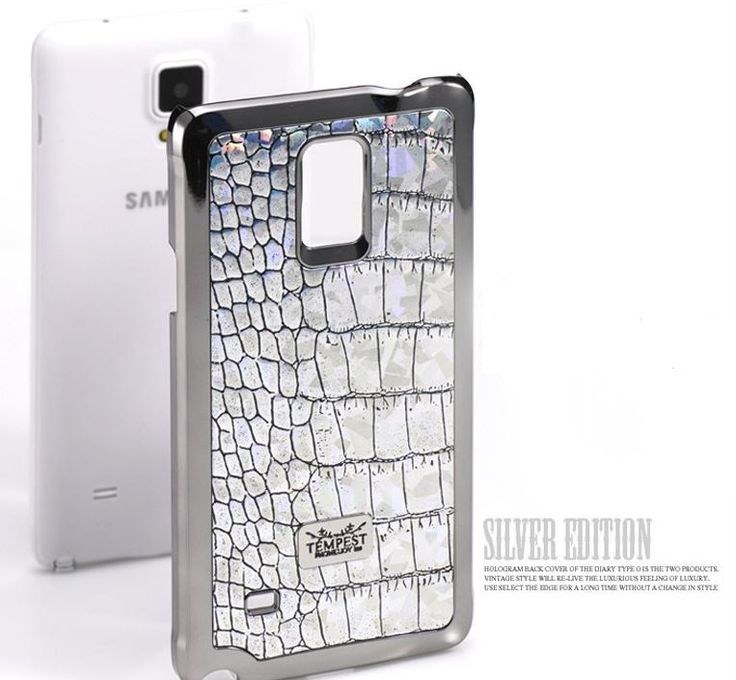VINTAGE EDITION HOLOGRAM CROCO FASHIONABLE CELL PHONE BACK COVER FOR GALAXY NOTE 3