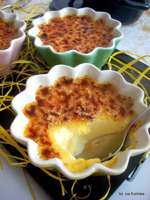 Smaczna Pyza sprawdzone przepisy kulinarne: Crème brûlée (krem brule) - klasycznie