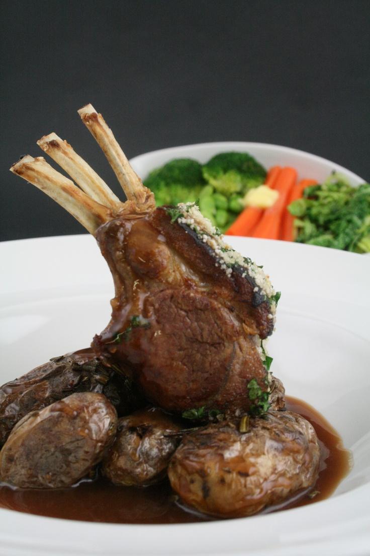 Rack of Lamb with Seasonal Sides