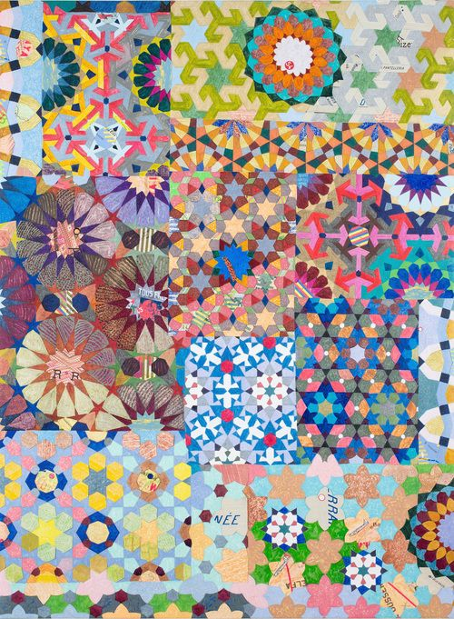 Joyce Kozloff has engaged in a love of pattern and art throughout her long career. A founder member of the Heresies publishing collective and an originatin