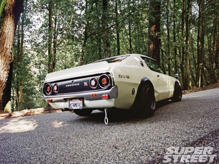 1972 Nissan Skyline 2000 Gt Rear View