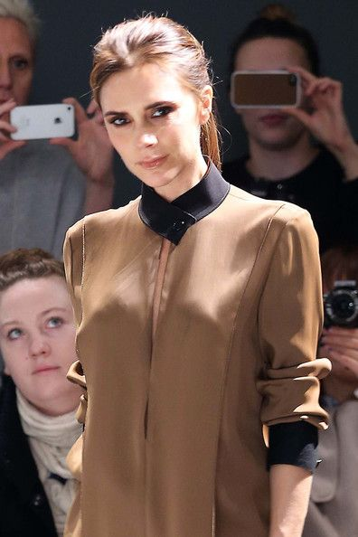 Victoria Beckham Style: Victoria's Moment After Her Presentation