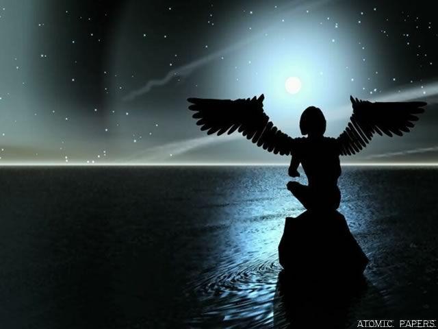 O cotidiano comum descrito em palavras...: Espelho X Anjos