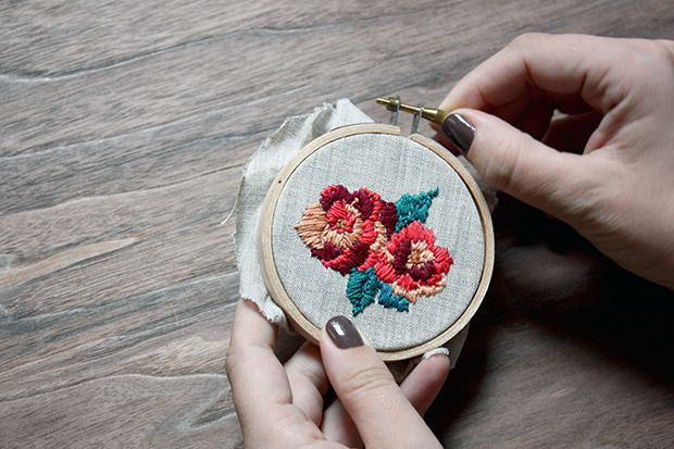 For The Makers: Fitzgerald Floral Embroidery