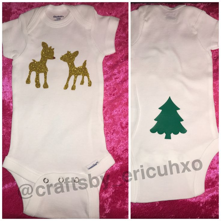 Rudolph Christmas Onesie #baby #christmas #christmasoutfit #ootd