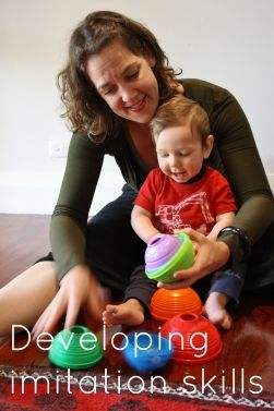 Early intervention tips - developing imitation skills. - repinned by @PediaStaff – Please Visit ht.ly/63sNt for all our ped therapy, school & special ed pins