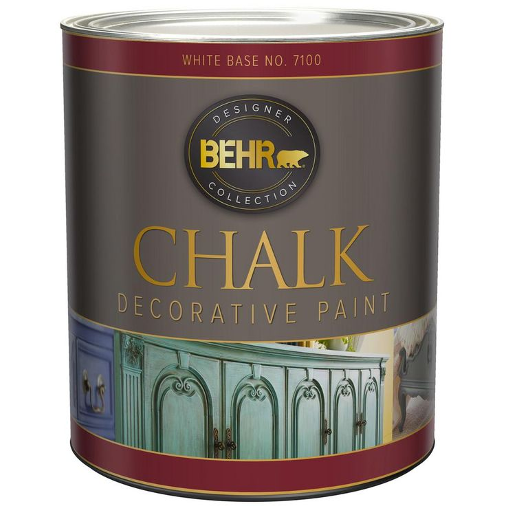 behr 1 qt white interior chalk decorative paint 710004 on home depot behr paint colors id=39766