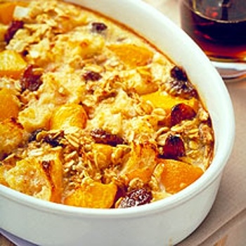 Image for Breakfast Bread Pudding with Peaches