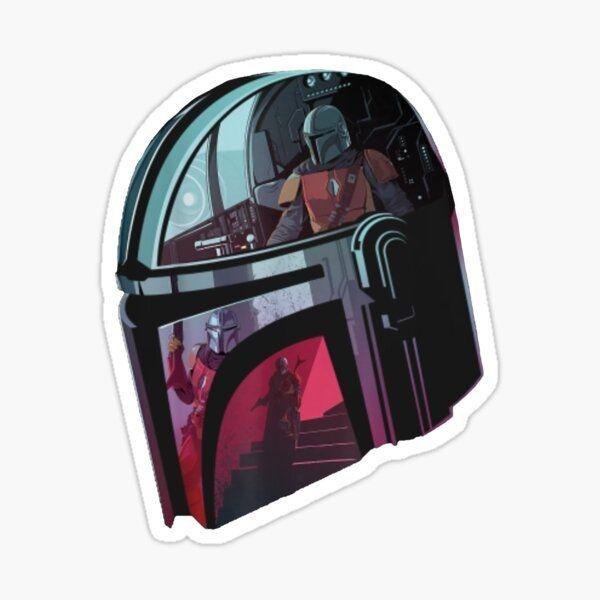 Star Wars The Mandalorian Sticker Cool