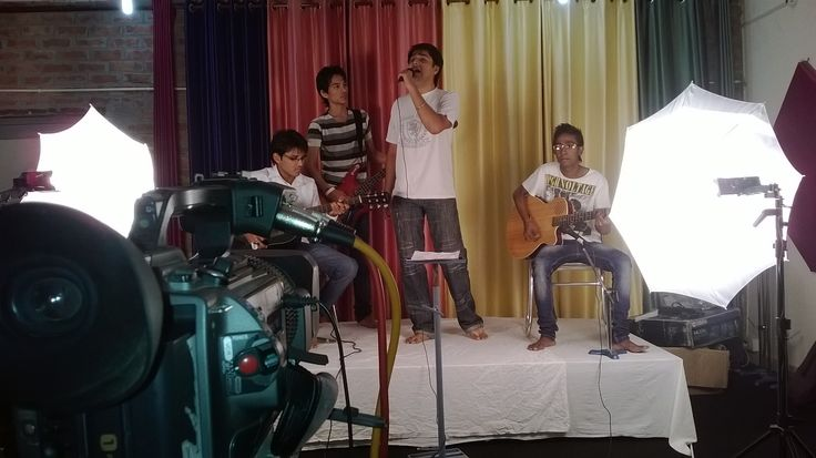 Hi all check our exclusive video shoot of our band for UK TV channel.Cheers for your love & support & thanx to my band mates pchain lead, max viki & mukesh ~ASSodhi singer/musician/composer