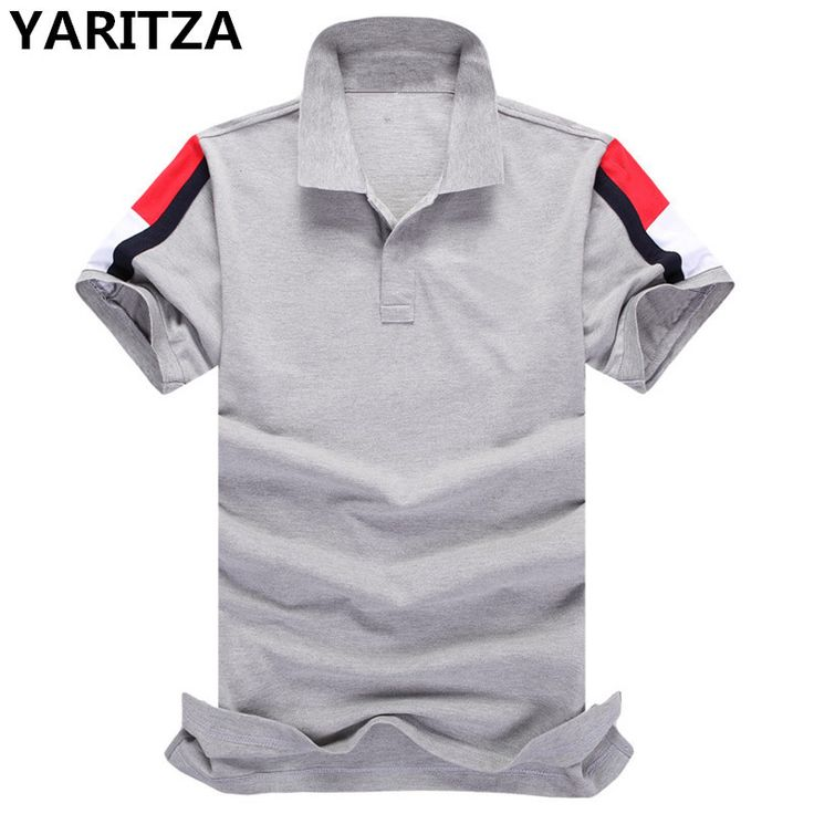 YARITZA Tomy Brand High Quality Men's POLO Shirt Pure Cotton Breathable Short Sleeve POLO Shirt For Men Sportswear Free Shipping