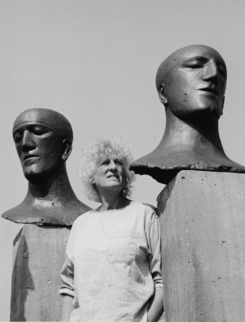 English artist Dame Elisabeth Frink (1930-1993) and her work. via pink pagoda studio