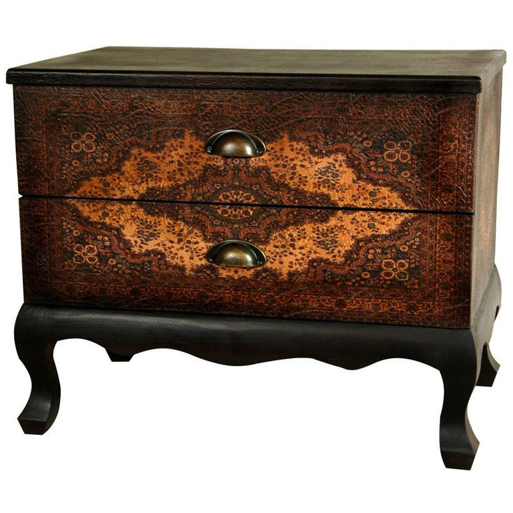 Low Chest Of Drawers Accent Cabinet Old World Furniture European Design  Table