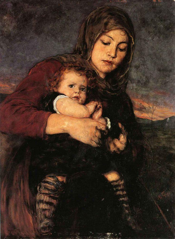 Nικόλαος Γύζης- Η Μητέρα