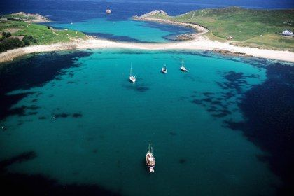 ISLES OF SCILLY: Check out spots like this where Gugh and St Agnes islands meet - and you might even see a seal