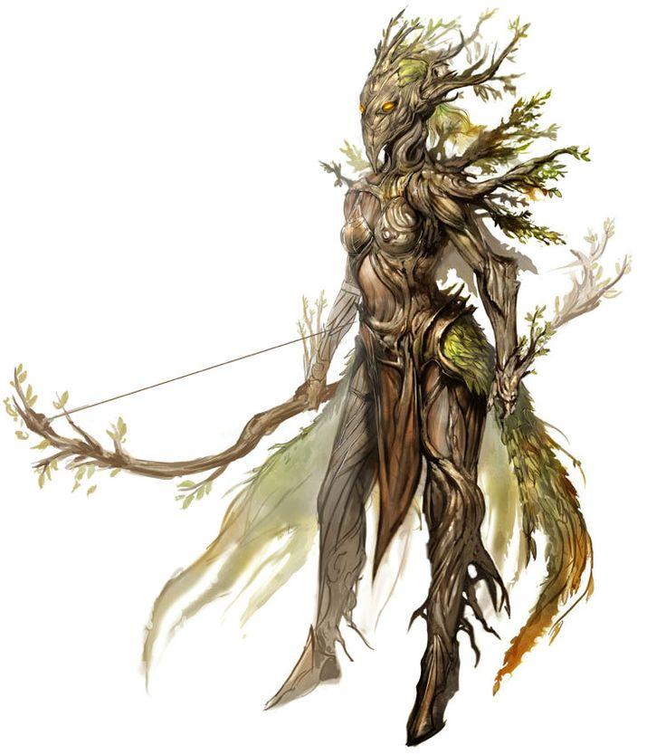Avatar of Melandru from Guild Wars Nightfall