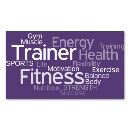 296 best fitness trainer business cards images on pinterest personal trainer business card fbccfo Choice Image