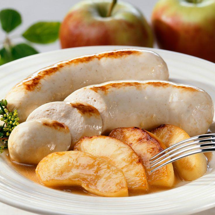 Découvrez la recette Boudin blanc aux pommes sur cuisineactuelle.fr.