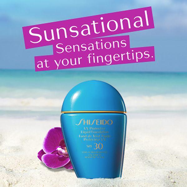 #Protezione e #bellezza a portata di mano! Leggero e #waterresistant, il #fondotinta solare liquido #Shiseido assicura un #look impeccabile! #Sunsational http://www.shiseido.it/#/suncare/suncare/sun-makeup/sun-protection-liquid-foundation-n-spf-30