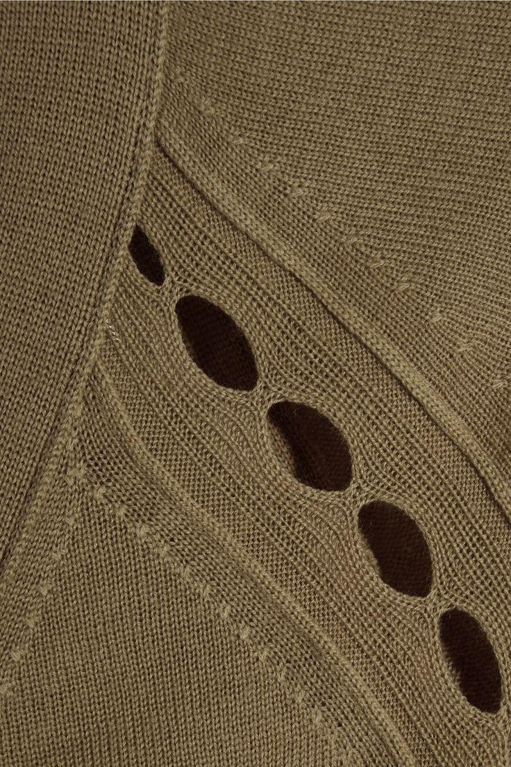 Bottega Veneta | Cutout wool cardigan | NET-A-PORTER.COM