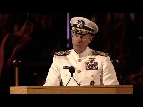 05-26-205   Navy Seal commander gives some of the best advice to Grads at commencement - YouTube