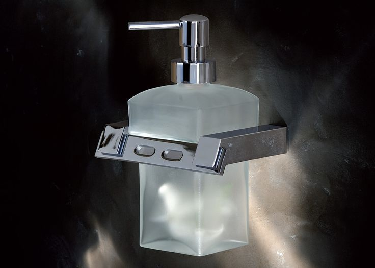 Wall-mounted Soap Dispenser by Cadena Collection. #ViolekDesign