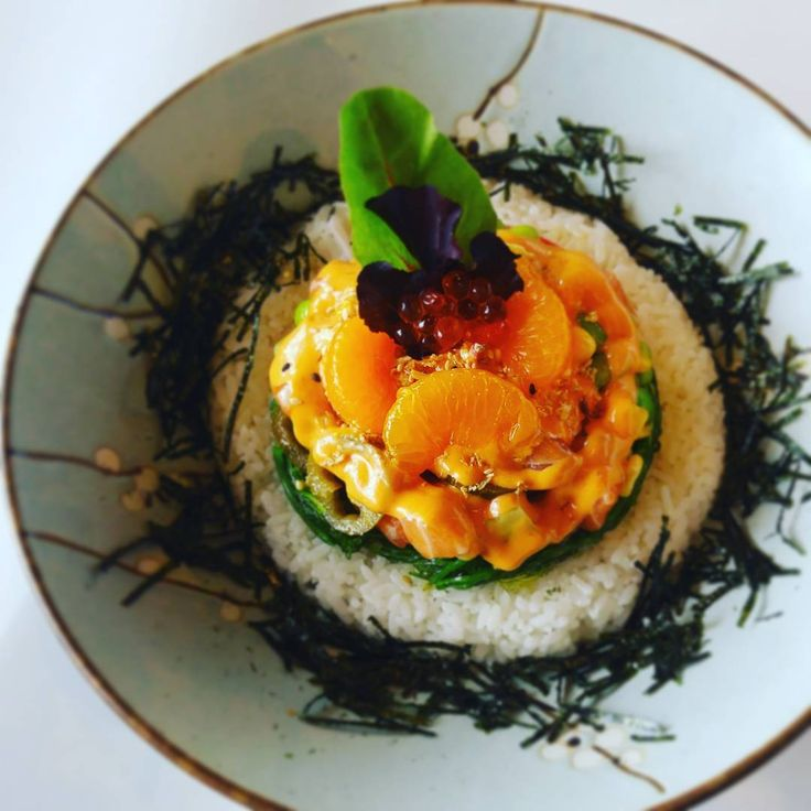 Lunch: Salmon Poke @goodcatchboil