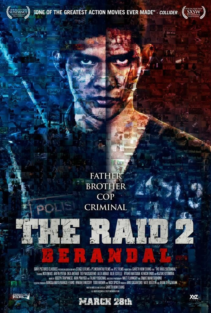 The Raid 2...way better then the first one!!! I'm a kinky l junkie for Giving/kung fu/ mu thai movies
