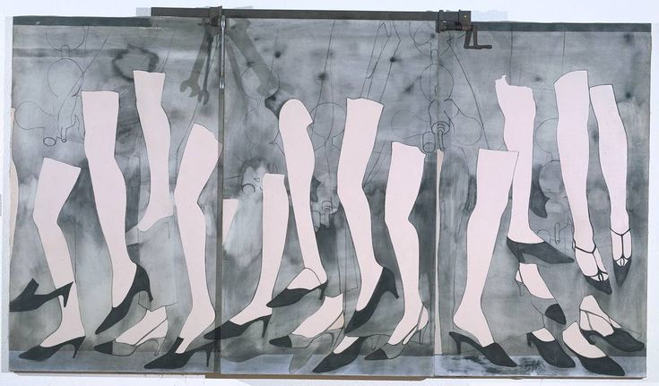 Jim Dine, Walking Dream with a Four Foot Clamp, 1965