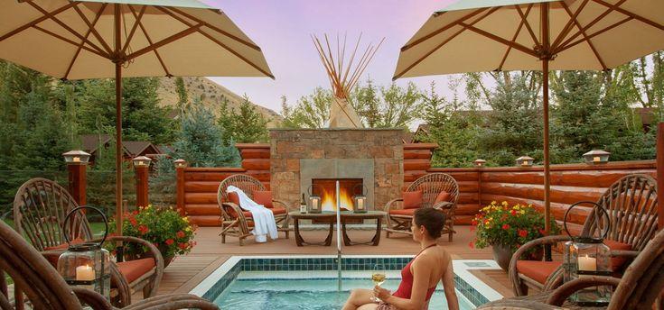 The Spa Suites @ Rustic Inn #JacksonHole