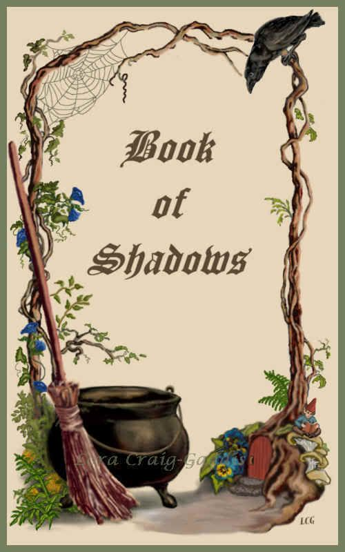Items to put into your Book of Shadows.