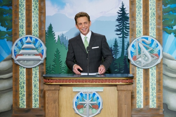 New Ideal Church of Scientology Blooms in the City of Roses -- In recognition of Portland's new Church, Mr. David Miscavige, Chairman of the Board Religious Technology Center and ecclesiastical leader of the Scientology religion, spoke . . .