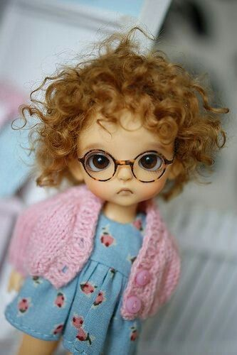 This doll is so cute!