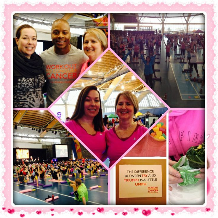 Workout to Conquer Cancer 2014 - another amazing event with my buddy Laura
