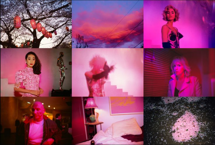"""Pink"" by Nan Goldin"