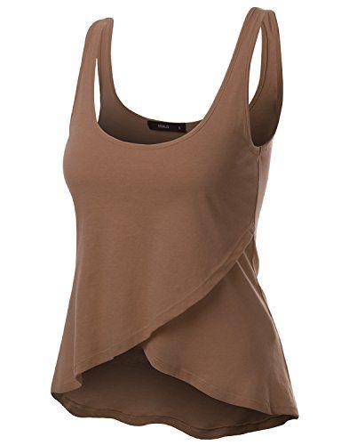 Doublju Women Fasionable Short Length Sleeveless Plus Size Top HEATHERCOCOA,3XL Doublju http://www.amazon.com/dp/B010P290F8/ref=cm_sw_r_pi_dp_Xwk4wb13VF834
