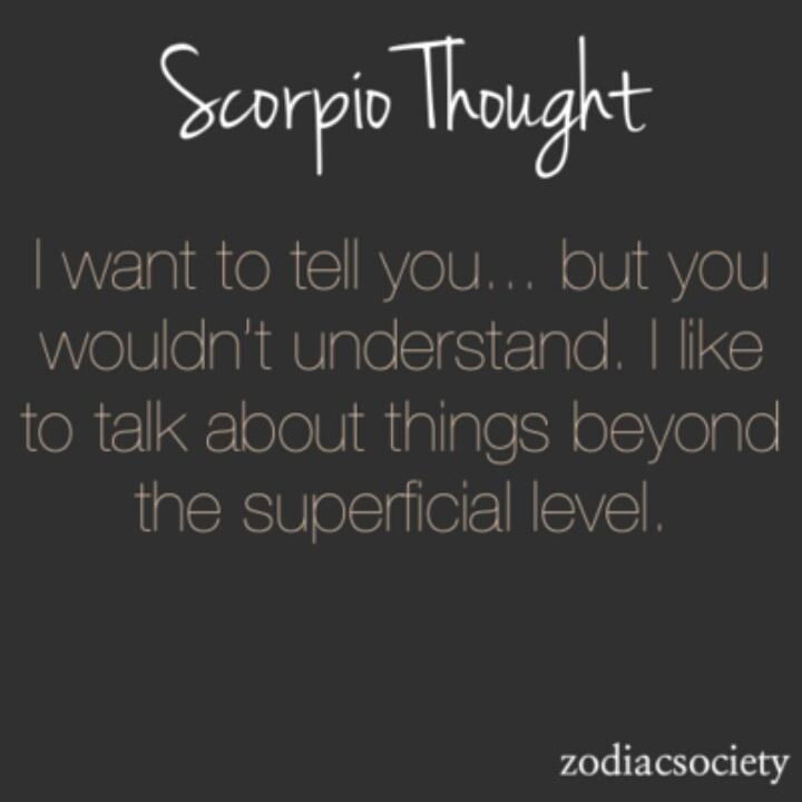 Scorpio style - Yep