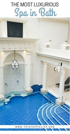 A look inside the 5-star luxury spa hotel The Gainsborough in Bath, England. Take a dip in the natural mineral waters, enjoy a massage, then lay your head in luxury.