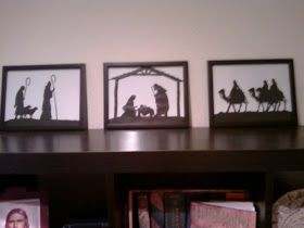 You Seriously Made That!?: Christmas Silhouette Tutorial