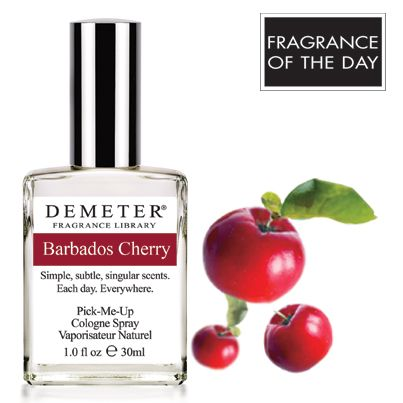 Today's Fragrance of the Day for July 24, 2013 is Barbados Cherry. On this day in 1993, Met's baseball player Vince Coleman threw a cherry bomb at Dodger Fans. Receive our Barbados Cherry for 50% off with code 3783106.