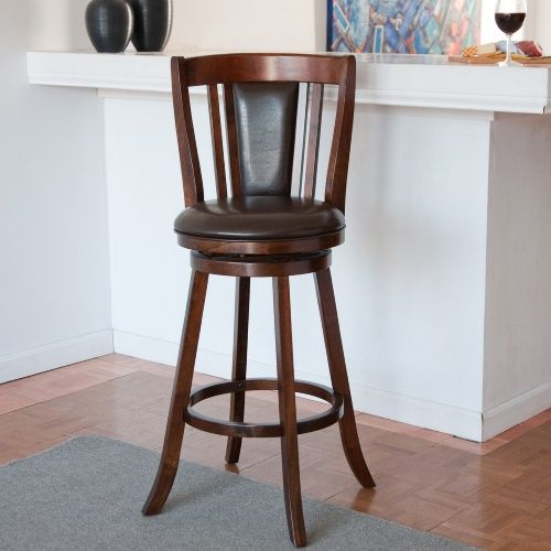 Doncaster 24 in. Swivel Counter Stool - Bar Stools at Hayneedle