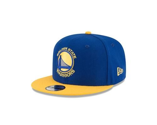 Golden State Warriors Youth Hat New Era 9FIFTY 2-Tone Snapback Cap