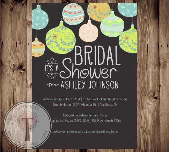 Christmas Bridal Shower