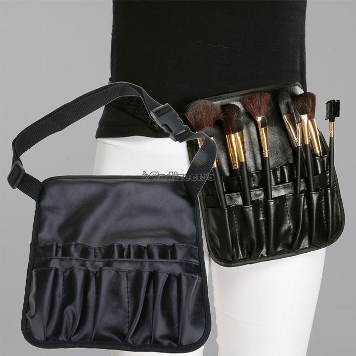 Professional Cosmetic Brush Apron Artist Belt Strap Makeup Holder Pouch Bag C5 It Cosmetics Brushes Makeup Brush Belt Essential Makeup Brushes