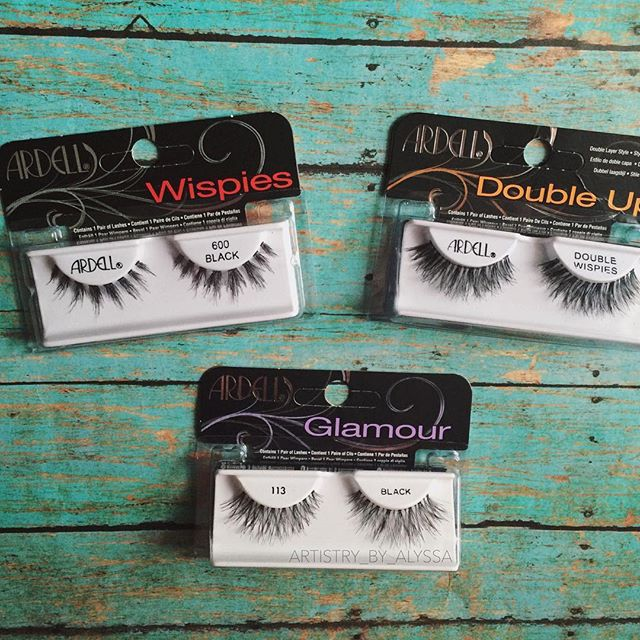 """The holy trinity of @ardell_lashes.  These styles are perfect for the """"semi-dramatic"""" individual. All 3 are easy to apply, lightweight and durable. I usually purchase them at CVS (with rewards and bogo sales) or Ulta (with that $3.50 off coupon in the weekly email!)... Thrifty glamour  #ardell_lashes #lashes #falsies  via ✨ @padgram ✨(http://dl.padgram.com)"""