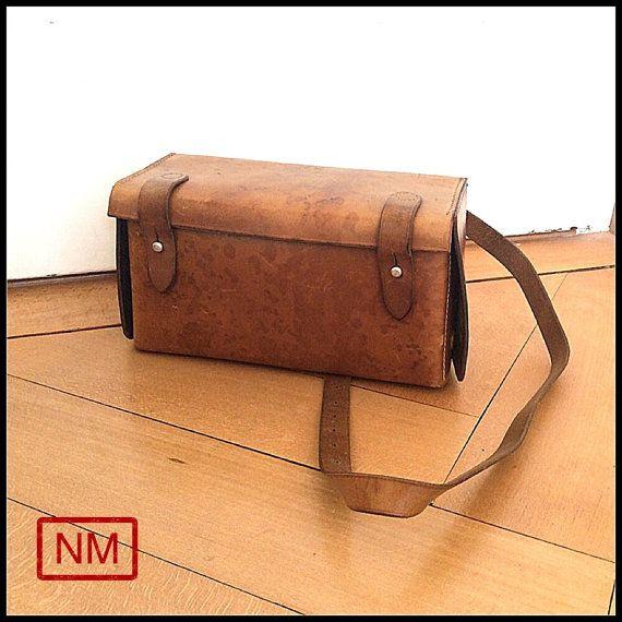 Vintage Swiss Railway First Aid Bag  Emergency by NaturaMachinata