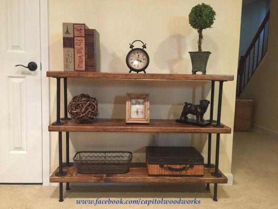 A solid wood , made-to-order bookshelf can be a beautiful and elegant way of showing off your collectibles, books, knick-knacks, etc. This