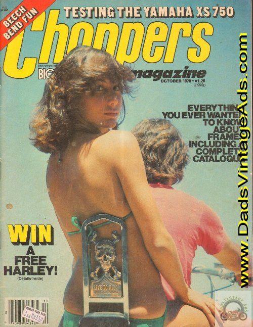 1978 Choppers Magazine